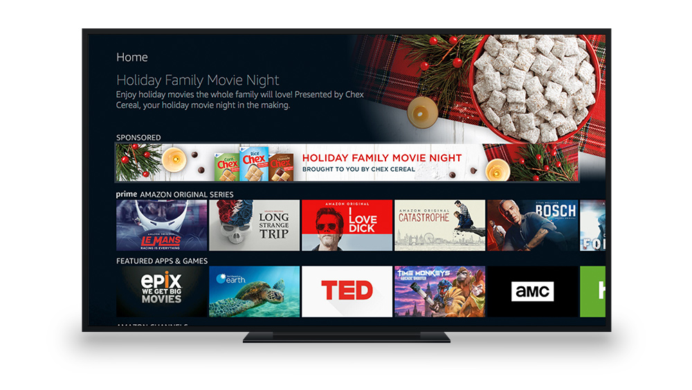 Fire TV Home Screen Banner