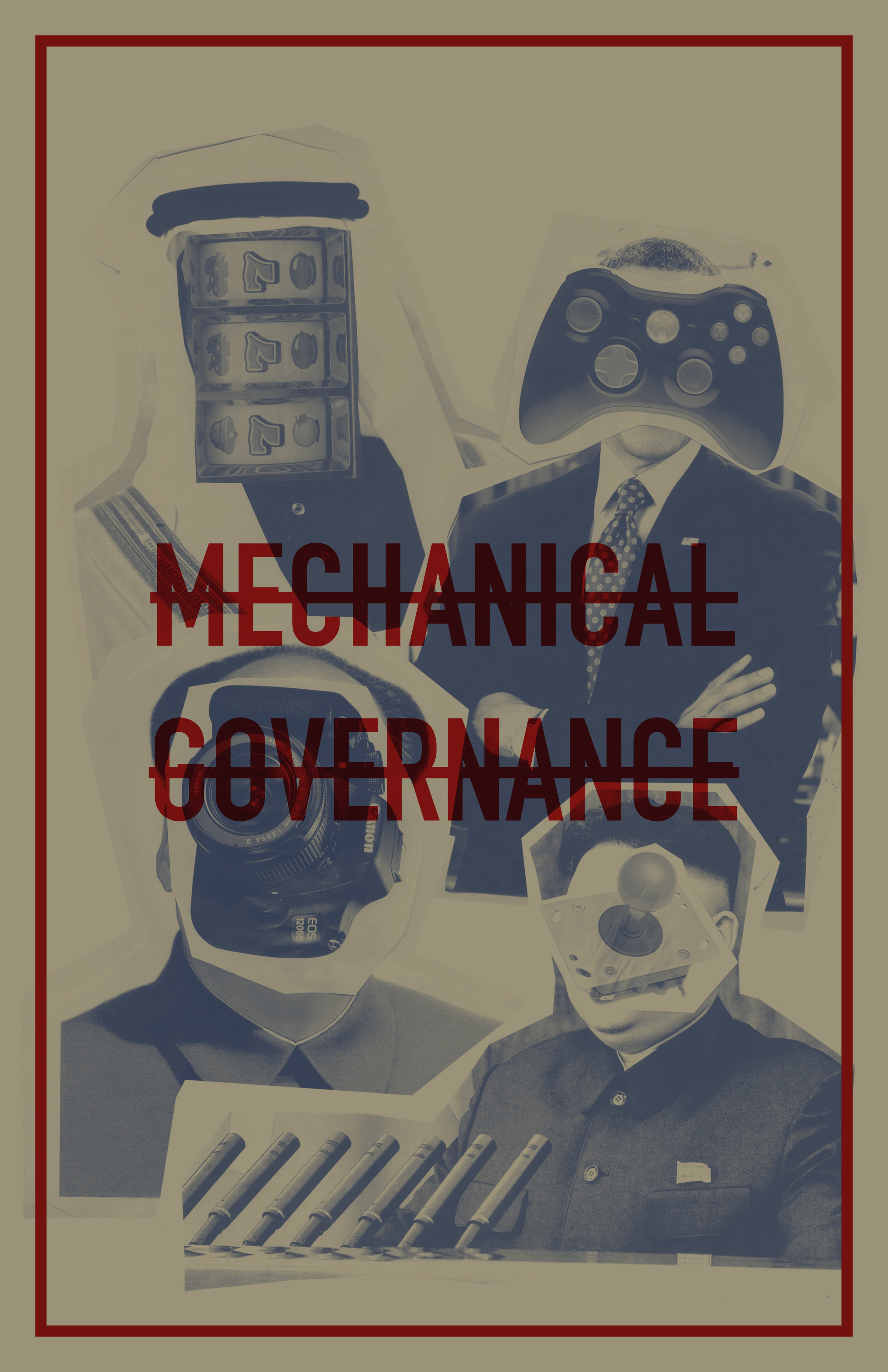 Mechanical Governance Poster , Print, 11 in x 17in