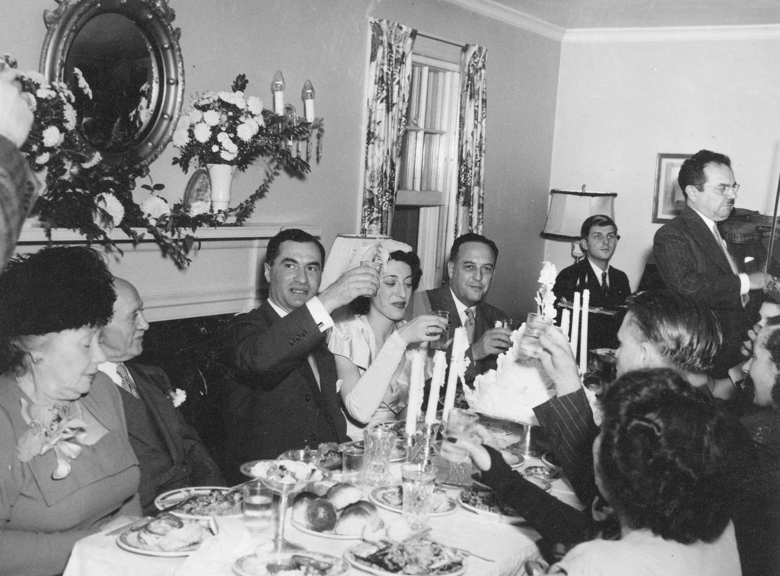 Wedding reception, Hamden, CT. 1946