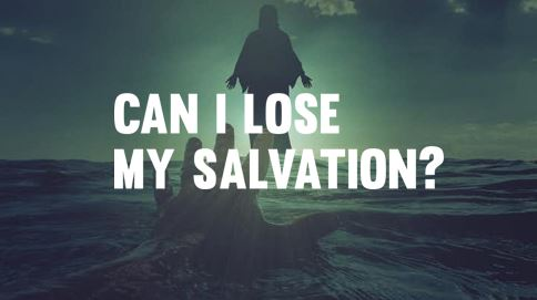 - You didn't earn your salvation, so you can't lose your salvation. If you have put your trust in Jesus and the Holy Spirit has changed your heart, God promises that nothing and no one can separate you from Him. (John 6:38-44,John 10:27, Romans 8:28-30)