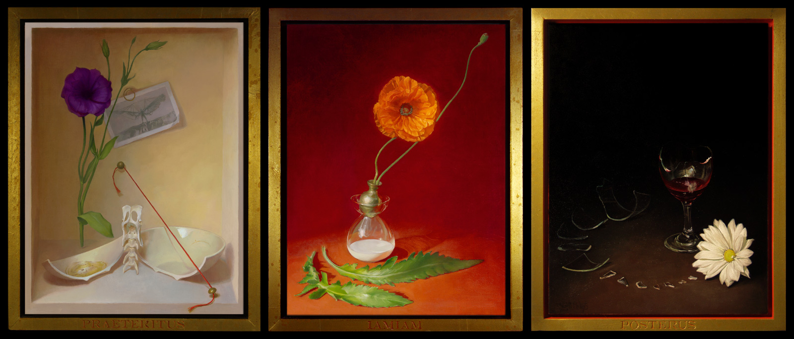 The Completed Triptych