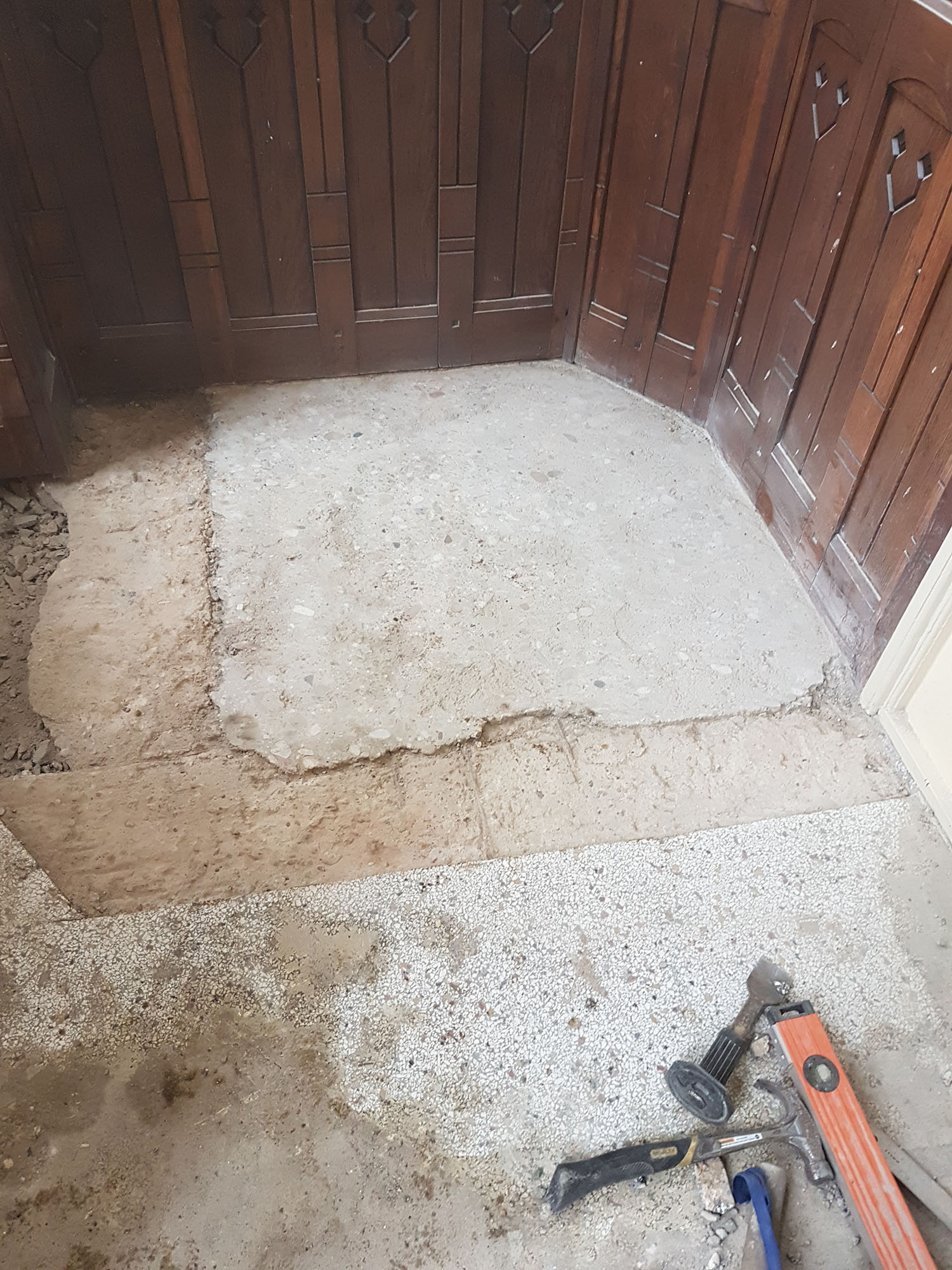 Renovatie Postuma Terrazzo