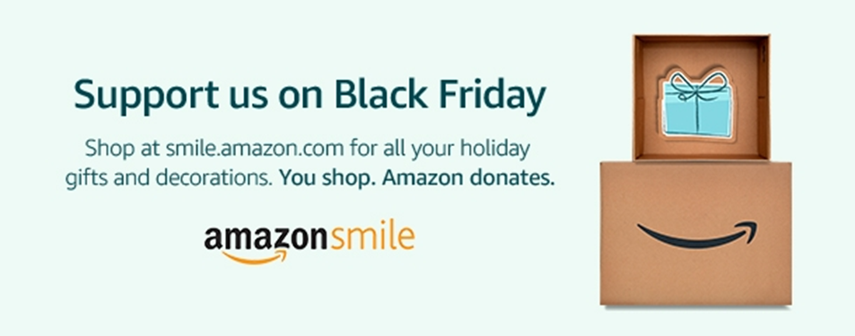 Support us when you shop on Black Friday. Go to    smile.amazon.com/ch/46-4509063    and Amazon donates to Drew Quality Group Inc.