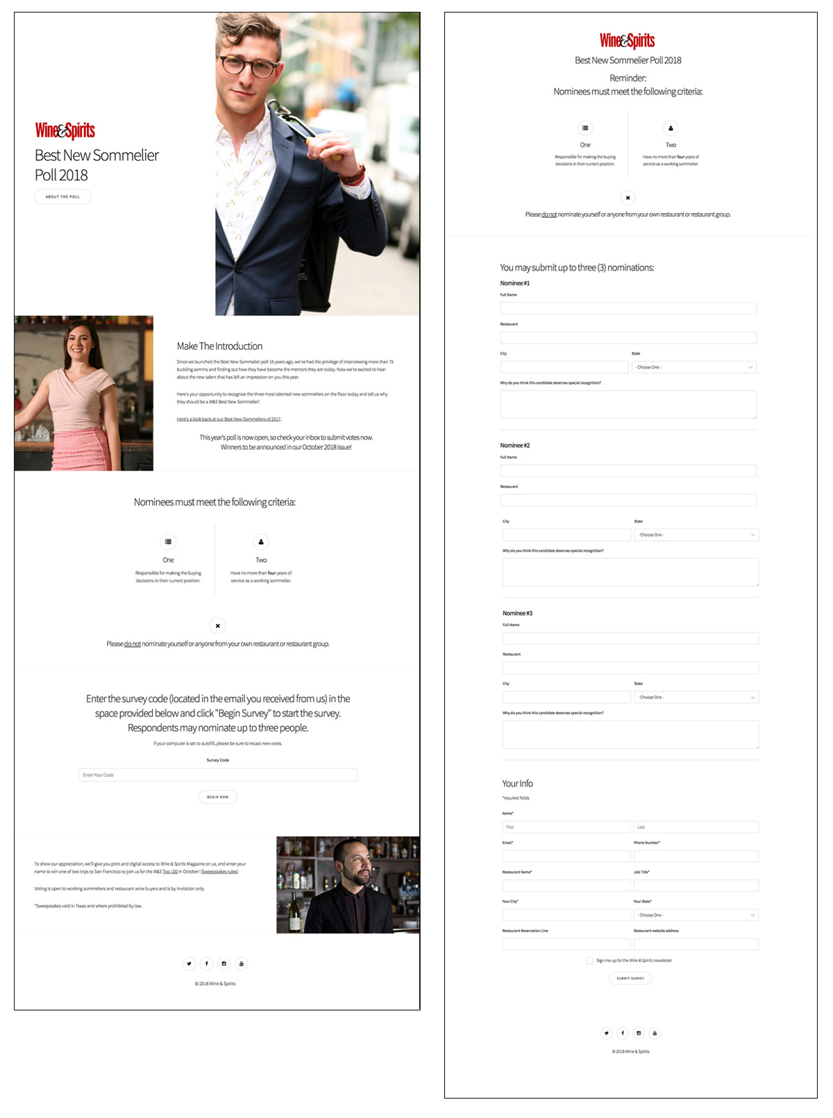 Best New Sommelier Poll Landing Page -