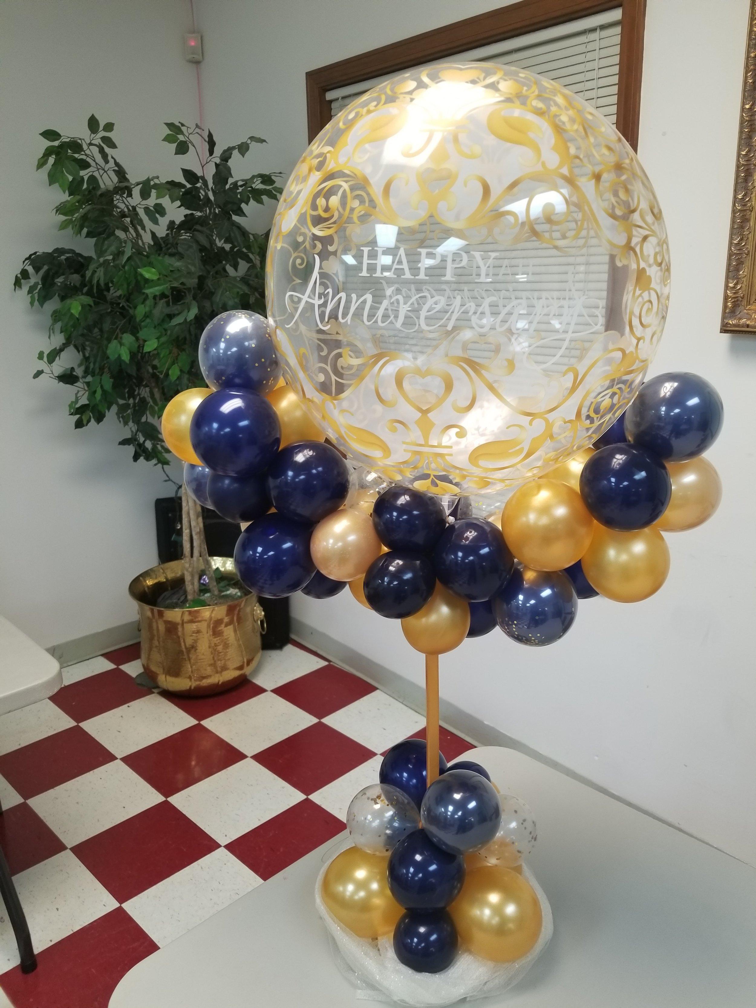 Church anniversary balloon centerpiece.jpg
