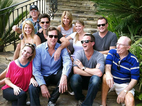 Most of the Full House cast reuniting in 2012 COURTESY ANDREA BARBER
