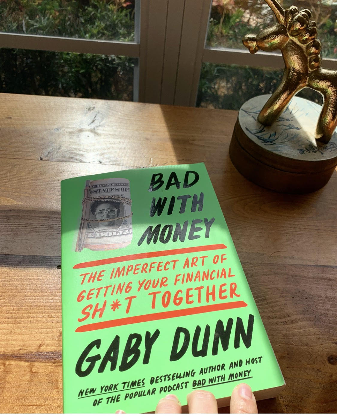 The first financial book that didn't send me into a shame-spiral of googling. Thank you Gaby Dunn.
