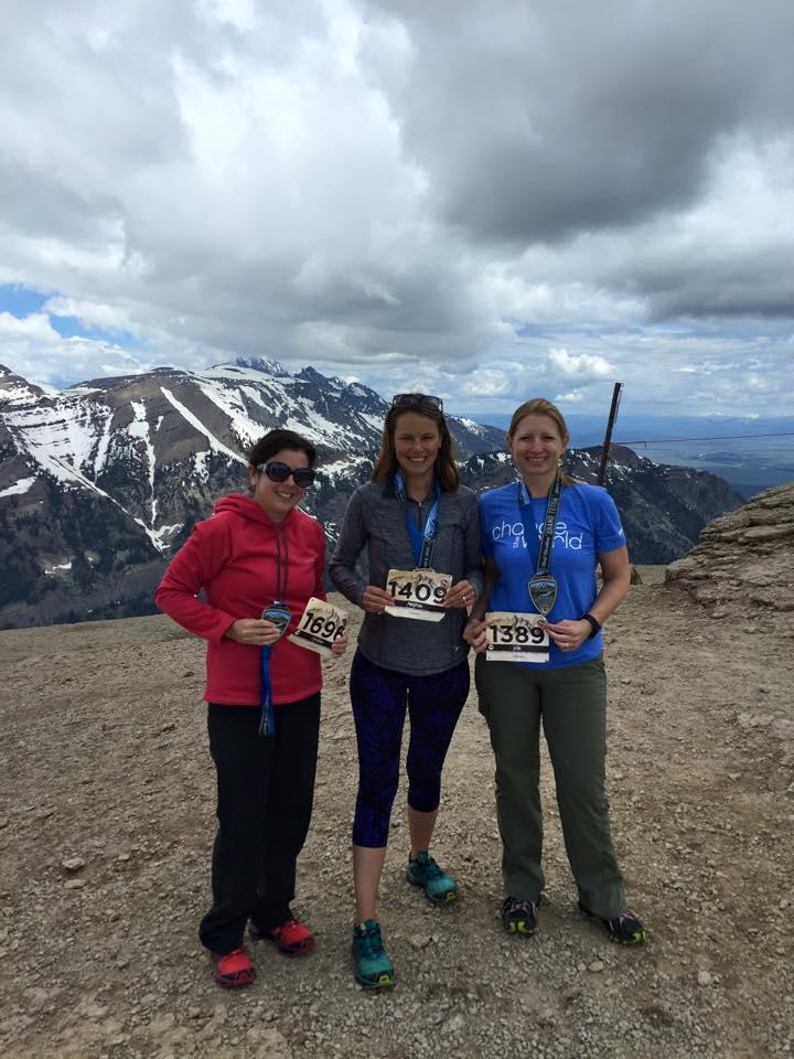 Meet #AccidentallyHardcore - ladies I travel with to a half-marathon every year.