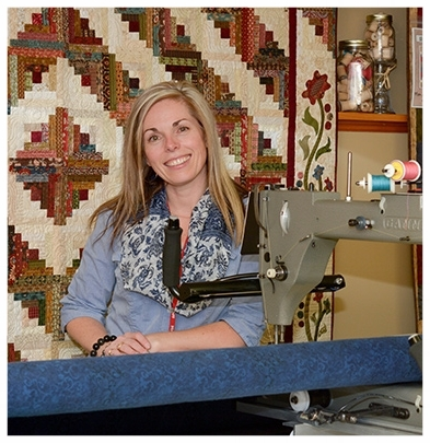 Hi, I'm Manon Hunt, owner of Mom and Me Quilting Co., a long arm quilting and pattern design company. After having owned a retail location in the Upper Ottawa Valley, our family moved to my husband's home town of Tweed where I now operate from my home studio.   Read More >>