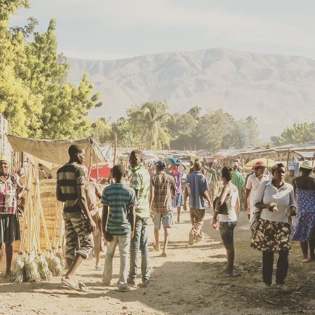 Desarmes, Haiti is a small town near the Artibonite River. Walking through a larger Port-au-Prince outdoor market, my mother and I, hand in hand, used to shop for grains, cornmeal, beans, etc. for the week's meals.   #risehaitiancreative #haiti #homeland #ancestors #dance #tothediaspora #mothersday