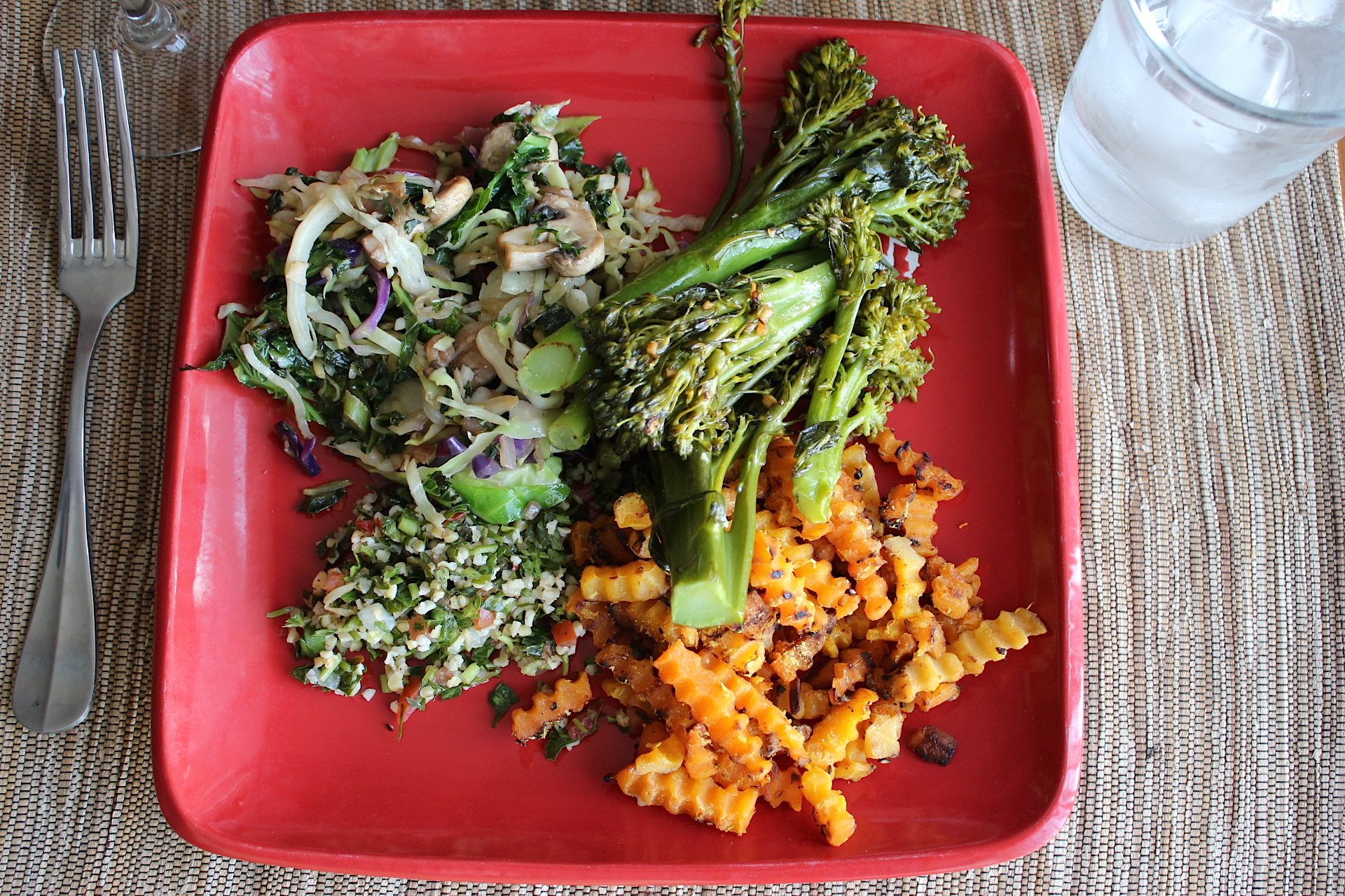 Stir Fry with Broccolini and SP Fries.JPG