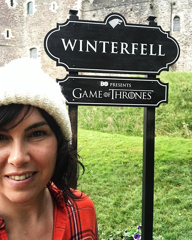 We made it to Winterfell 🖤🖤🖤