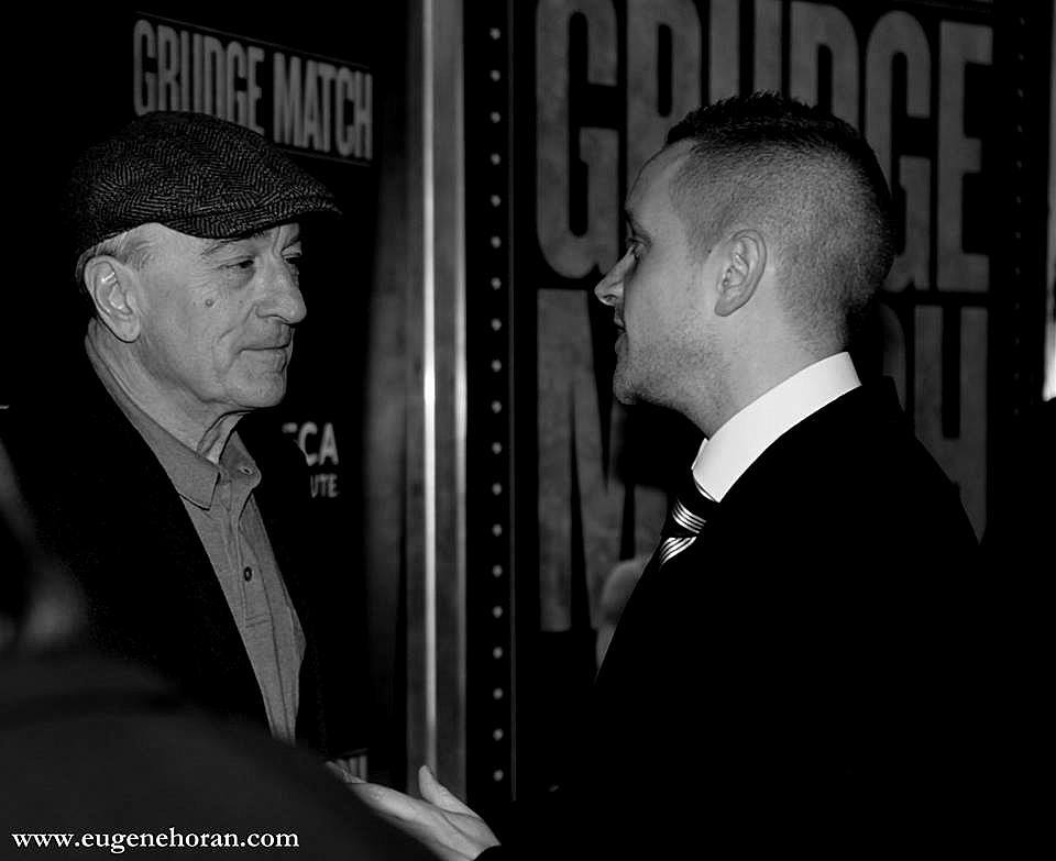 'IN PLAIN BLACK & WHITE' - Discussing the iconic film Raging Bull with the legend himself, Bob revealed something I never knew before... During the editing process, director Martin Scorsese showed the fight footage to the real Raging Bull Jake Lamotta and although he loved De Niro's uncanny portrayal of him, he pointed out one inaccuracy -
