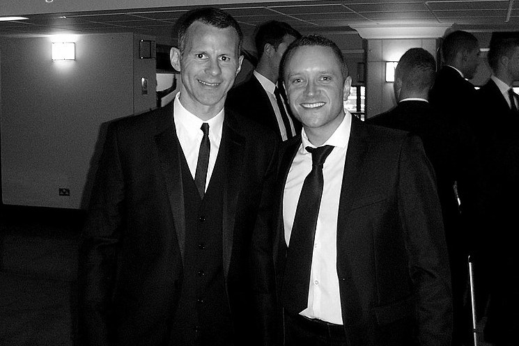 'THE LIFE OF RYAN' - No footballer on the planet, past or present has ever won more silverware than Ryan Giggs. 29 years at one club... you don't hear that very often nowadays! I've had the pleasure to meeting Ryan several times but this particular photo was taken at the 2013 Manchester United Player of the Year awards.