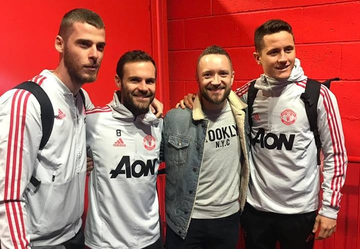 'THE 4 AMIGOS' - You'll go a long way to find three nicer guys than the Spanish contingent of Manchester United - David De Gea, Juan Mata & Ander Herrera.