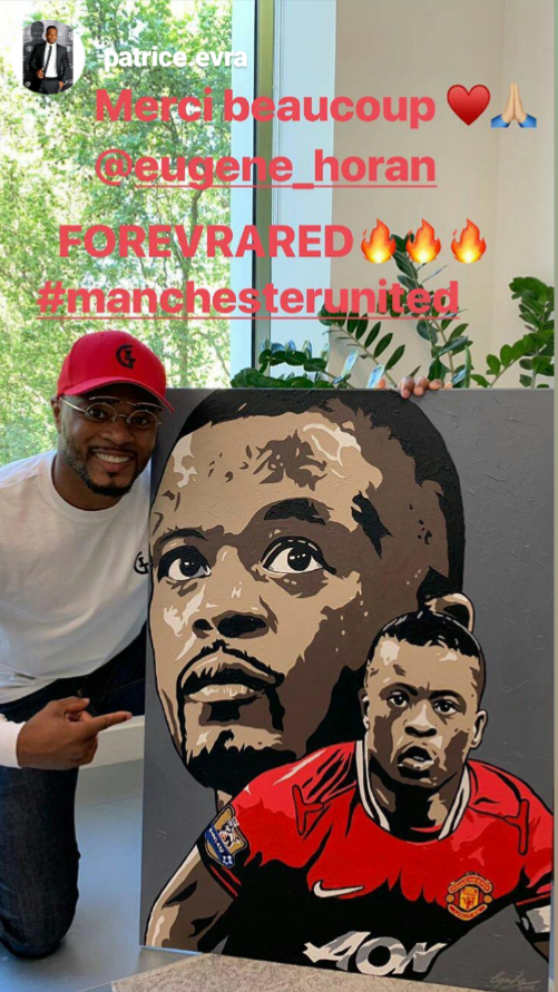 FOREVRA RED… - We all know Manchester United & France legend Patrice Evra