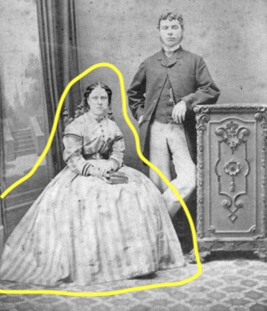 Annie Chapman and her husband.