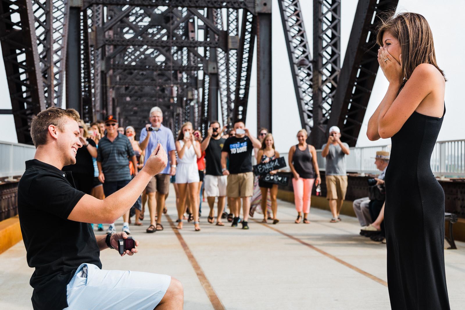 Louisville Surprise Engagement | Elopement + Wedding Photographer | Erin Brennan Photography