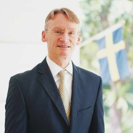 Amb. Harald Fries of the Swedish Embassy of the Phils. -