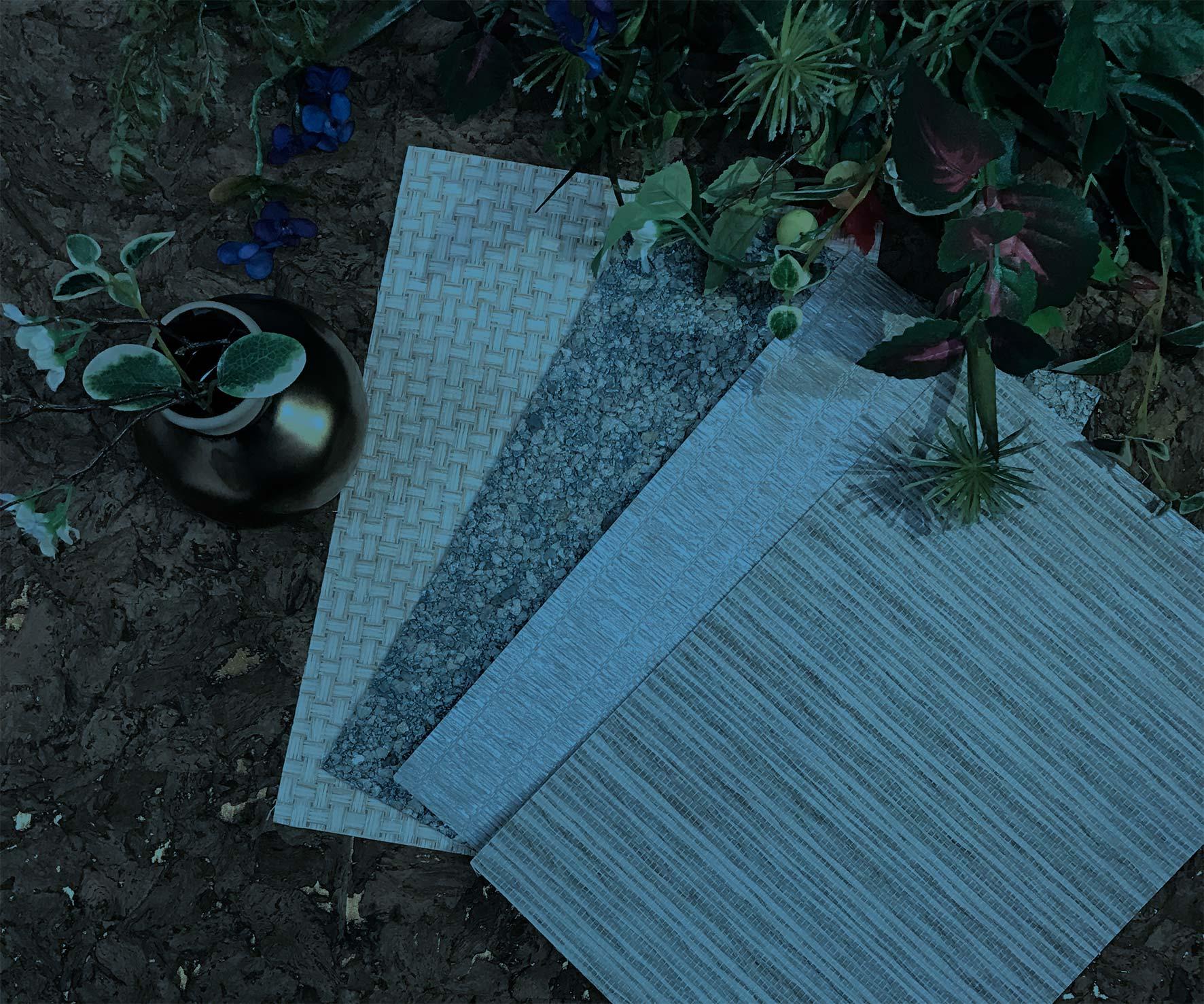 Shênzhèn - Grasscloths, Paperweaves, Textiles, Micas & Corks