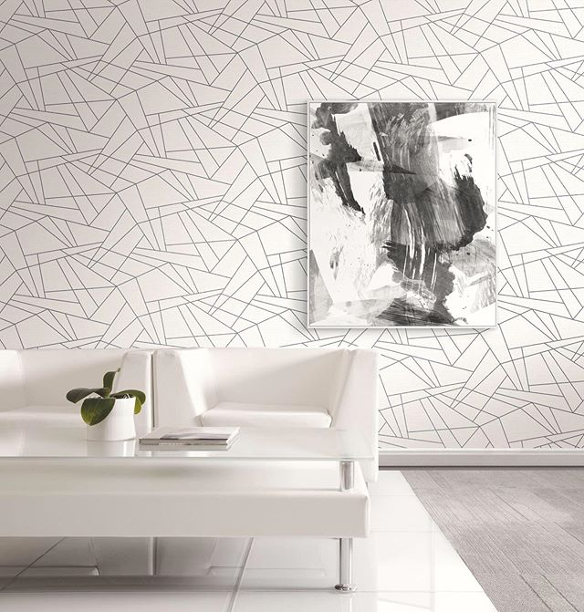 Getting linear from Graphite, one of three @pacific_designs_intl newest collections.  Wallpaper @pacific_designs_intl  #notyourgrandmaswallpaper #pacificdesignswallpaper #pacificdesignsgrasscloth #lovewallpaper #wallpaperlove #wallpaperisthenewblack #luxurywallpaper #designerwallpaper #wallpaperinspo #wallsthatwow #wallpaperdesign #wallpapershabby #wallpaperismyjam #wallpaperdecor #wallpaperideas #wallpapermagazine #ihavethisthingwithwallpaper #interior123 #interior_design #interiorsinspo #interiorstyling #designinspo #smmakelifebeautiful #interior4all #bhghome #geometricwallpaper #dressyourwall #luxuryinteriors #interiordesigninspiration  #dailydecordose