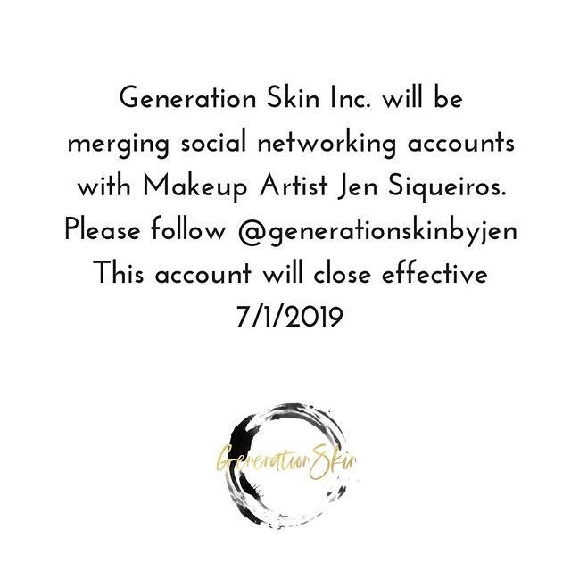 If you wonderfully beautiful humans could go follow @generationskinbyjen and click the blue follow button so that you don't miss out on my sarcasm, ingredient knowledge, waxing skills, lash and makeup posts that would be super fantastic of you! 😘😘 & there will possibly be a little give away! 😁  #skinisin #healthyskinisin #getglowing #glowtime #summerskin #allthetimeskin #skincare #followme #lashfabulous #bellalashes #estheticianlife #lashstylist #skincarecoach #ownit