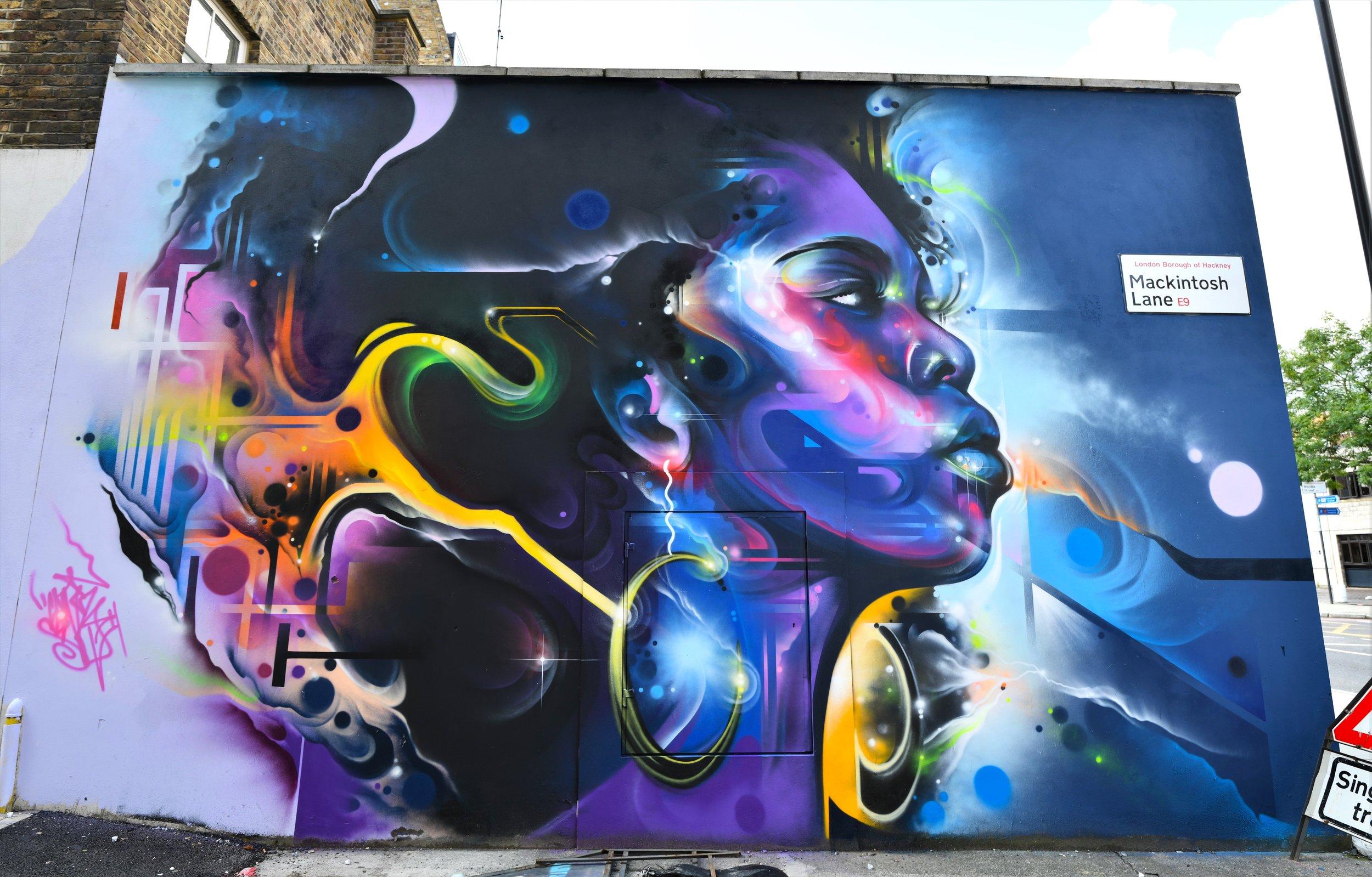 Hackney. London, 2019
