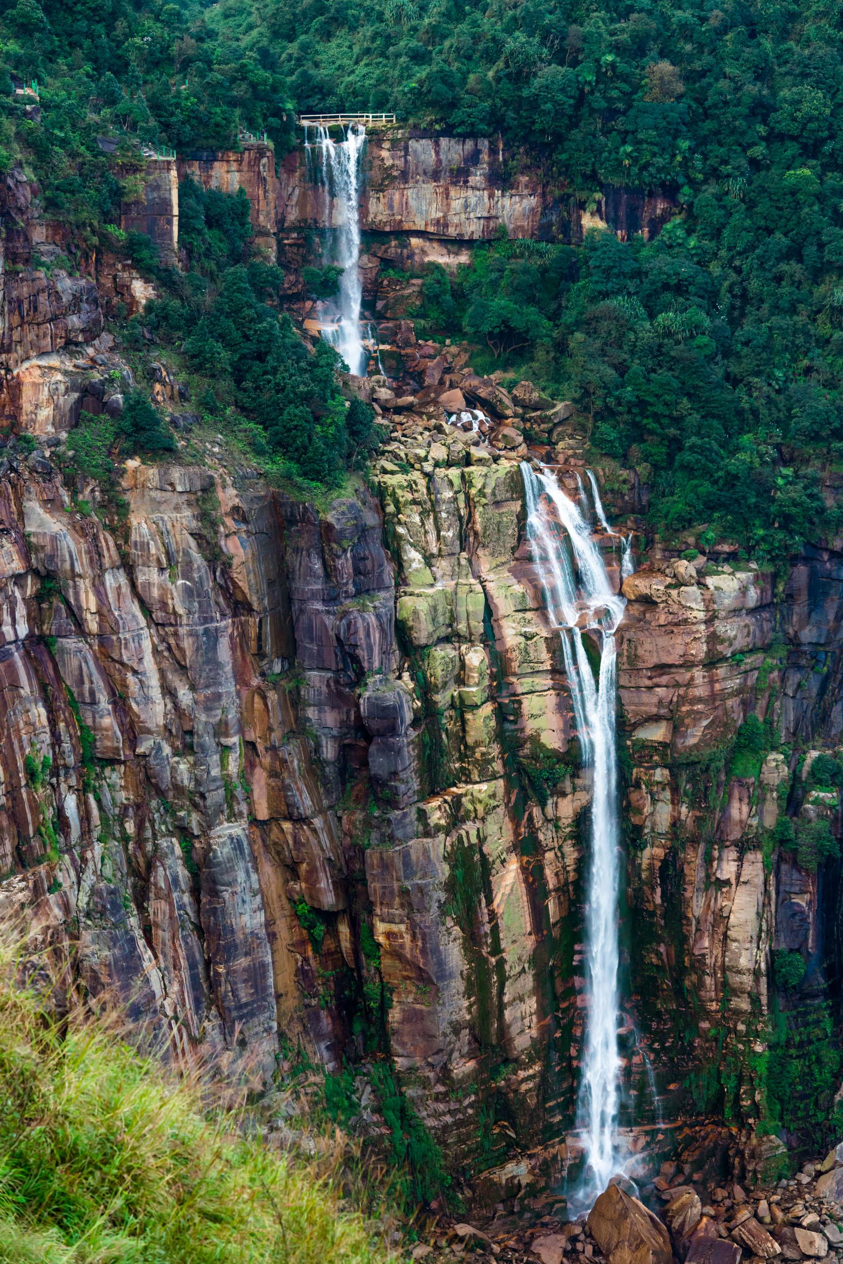 Dainthlen waterfalls