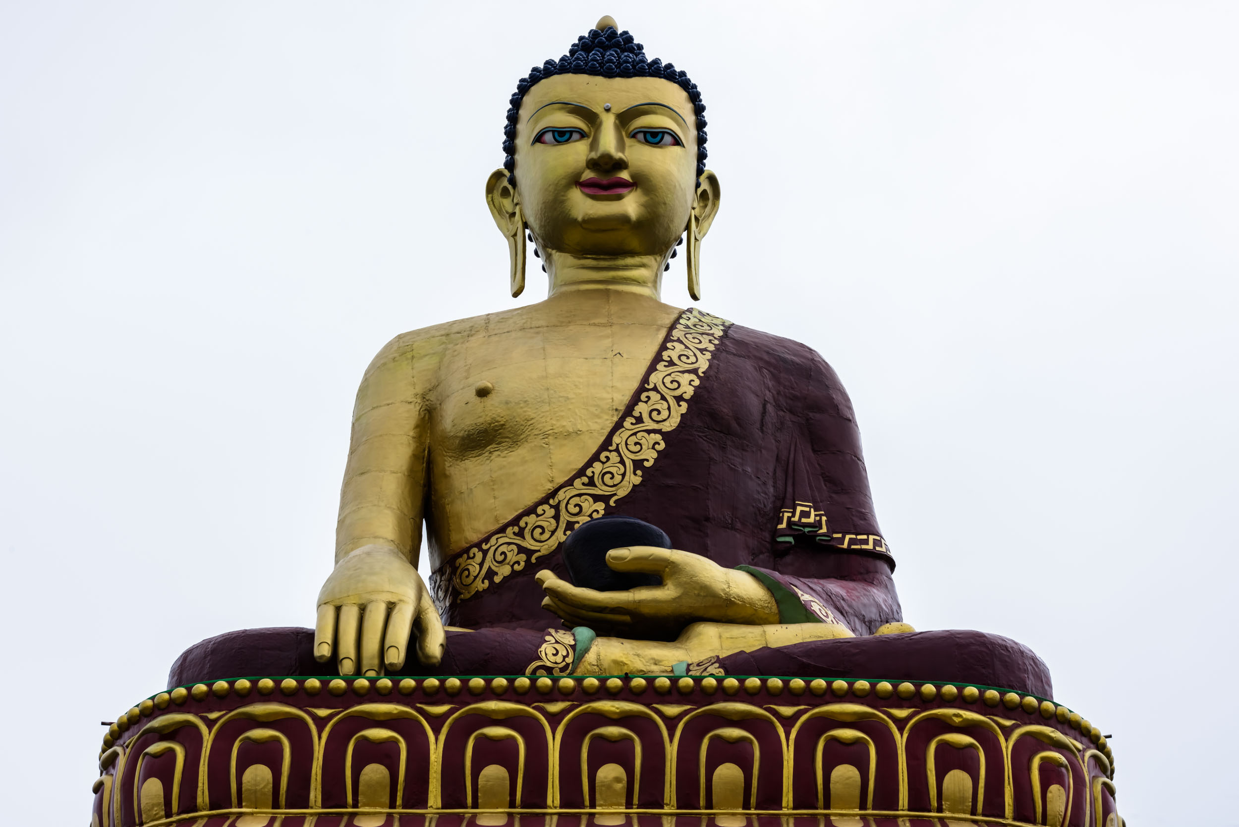 Buddha Statue in Town