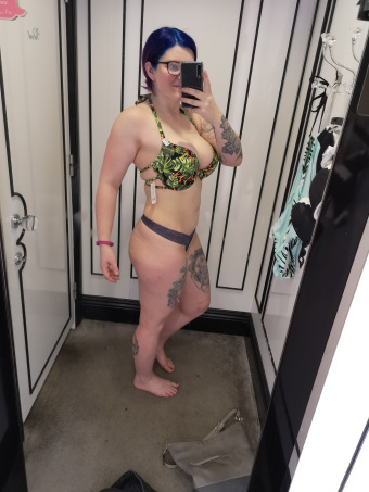 I haven't got the waist I want, or got the bum I want but I have got a back that is leaning out, my bum is changing shape and I love my tattoos?