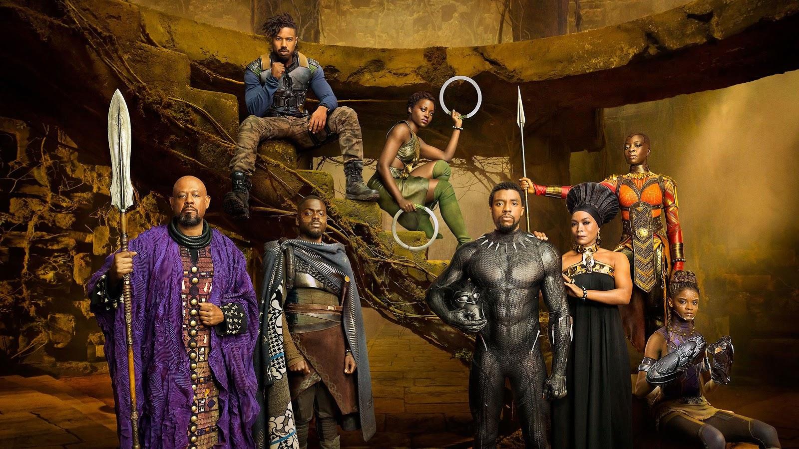 The Black Panther Cast Image Credit:Marvel Studios
