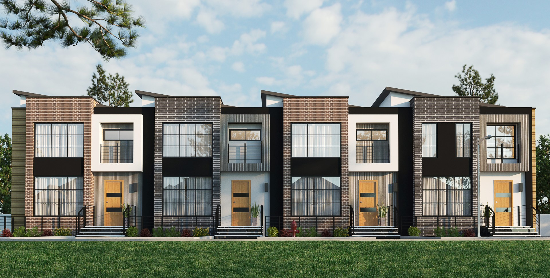 THE TARMAC TOWNHOMES - at Blatchfordstarting at 499klive on the best lots