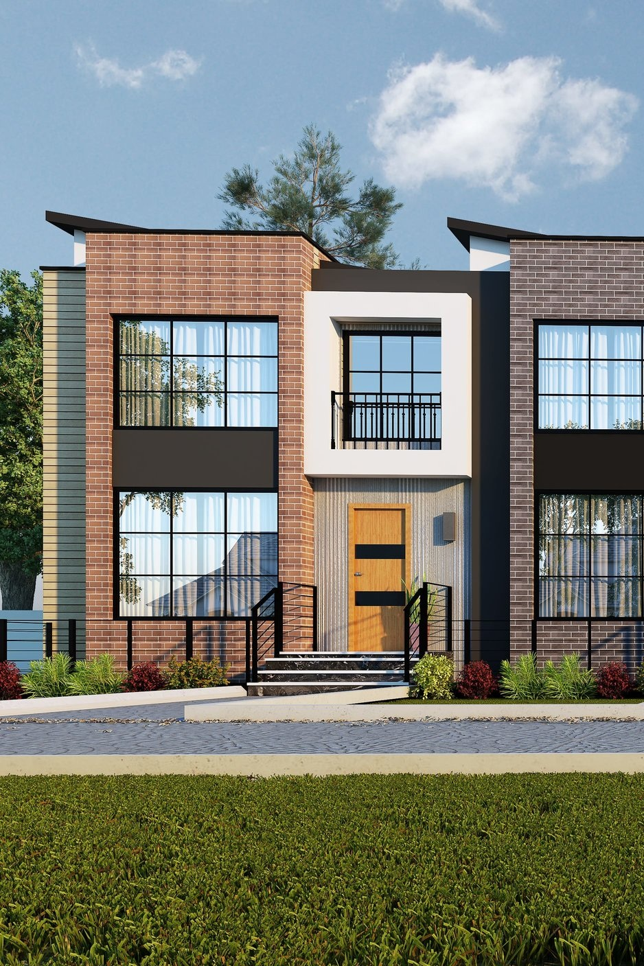 SOLD -Tarmac I - 1693 sq.ft. w/garage suite (Corner unit)at $640,000 - AVAILABLE with Possession: December 2019- Units facing the Public Pathway- Modern-contemporary design- 10' ceiling- Double garage 22' deep to fit your SUV/Pickup truck- Quartz/granite counter tops- Upgraded kitchen with big island- Loft on 2nd floor- Geo-thermal heating and cooling, HRV, Smart room thermostat**Price includes lot, house, landscaping, deck, and appliance credit, and GST, comes with a 2-bedroom garages suite & unfinished basement