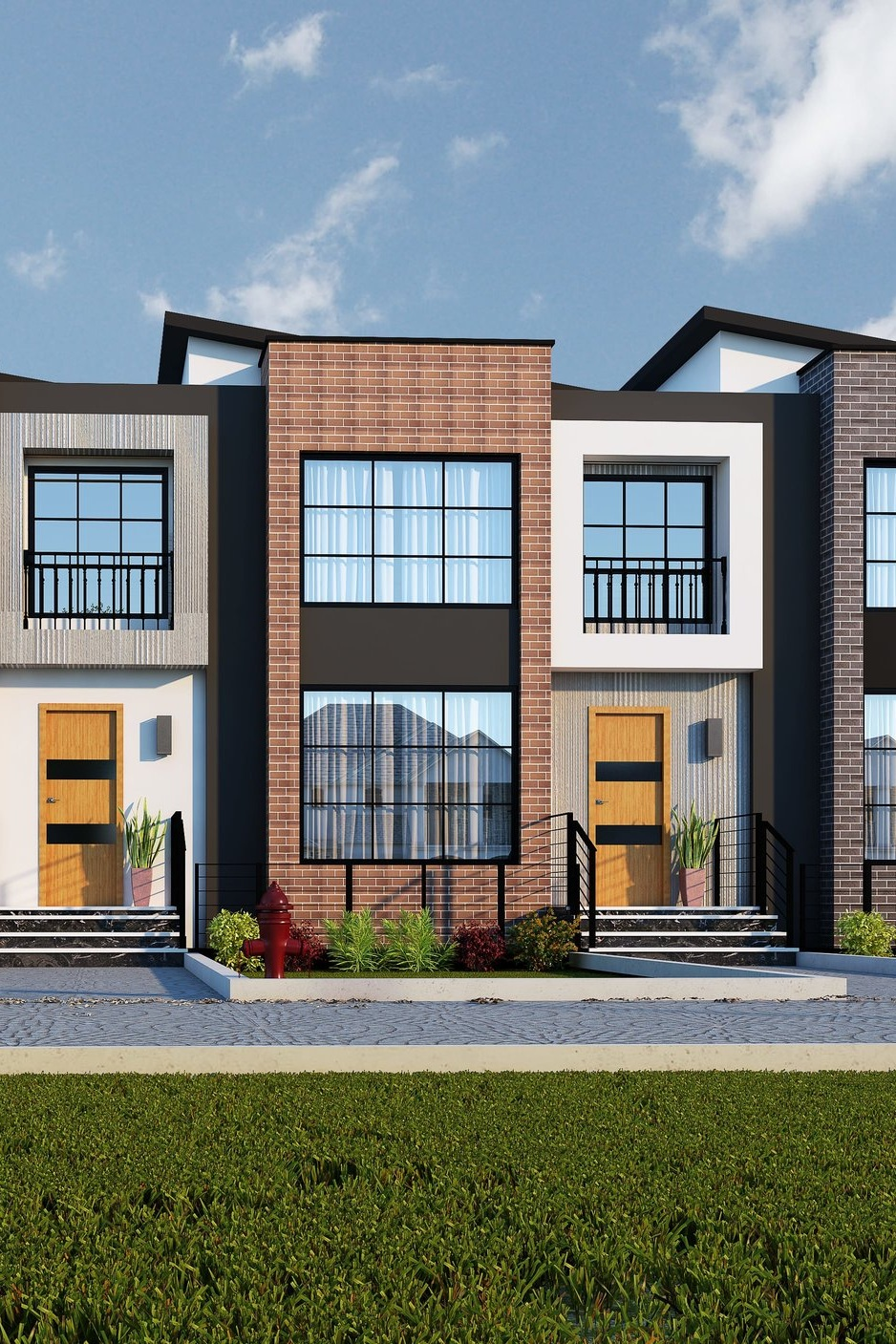 AVAILABLE -Tarmac III - 1670 sq.ft. w/basement suite option, $525,000 - Possession: December 2019- Units are facing the Public Pathway- Back entrance to an optional 2 bedroom basement suite,- Modern-contemporary design- 10' ceilings- Double garage 22' deep to fit your SUV/Pickup truck- Quartz/granite counter tops- Upgraded kitchen with big island- Loft on 2nd floor- Geo-thermal heating and cooling, HRV, Smart room thermostat**Price includes lot, house, landscaping, deck, and appliances credit, and GST, comes with a unfinished basement