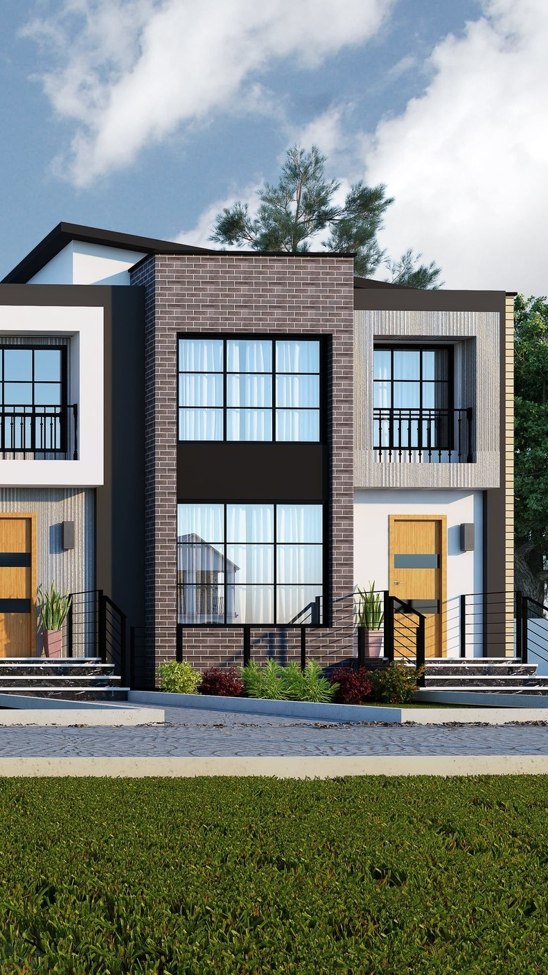 PENDING -Tarmac IV - 1877 sq.ft. w/ basement suite option (Corner unit), $565,000 - Possession: December 2019- Units are facing the Public Pathway- side entrance to the basement- Modern-contemporary design- 10' ceilings- Double garage 22' deep to fit your SUV/Pickup truck- Quartz/granite counter tops- Upgraded kitchen with big island and built-in appliances package- loft on 2nd floor- Geo-thermal heating and cooling, HRV, Smart room thermostat**Price includes lot, house, landscaping, deck, and appliances credit, and GST, comes with a unfinished basement