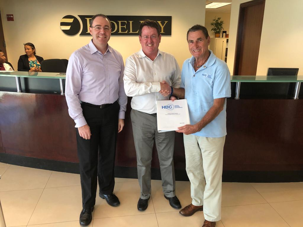 Fidelity Cayman - We at Fidelity are extremely pleased and satisfied with the product and service provided by HDC in preparation for the 2018 storm season. Their experience is well documented, but for a new business, we were particularly impressed with the professionalism and flexibility with which they approached our needs.We feel certain that Fidelity's employees, assets and business interests are more resilient to future threats through our ongoing and trusted use of HDC. We would highly recommend their services without hesitation.