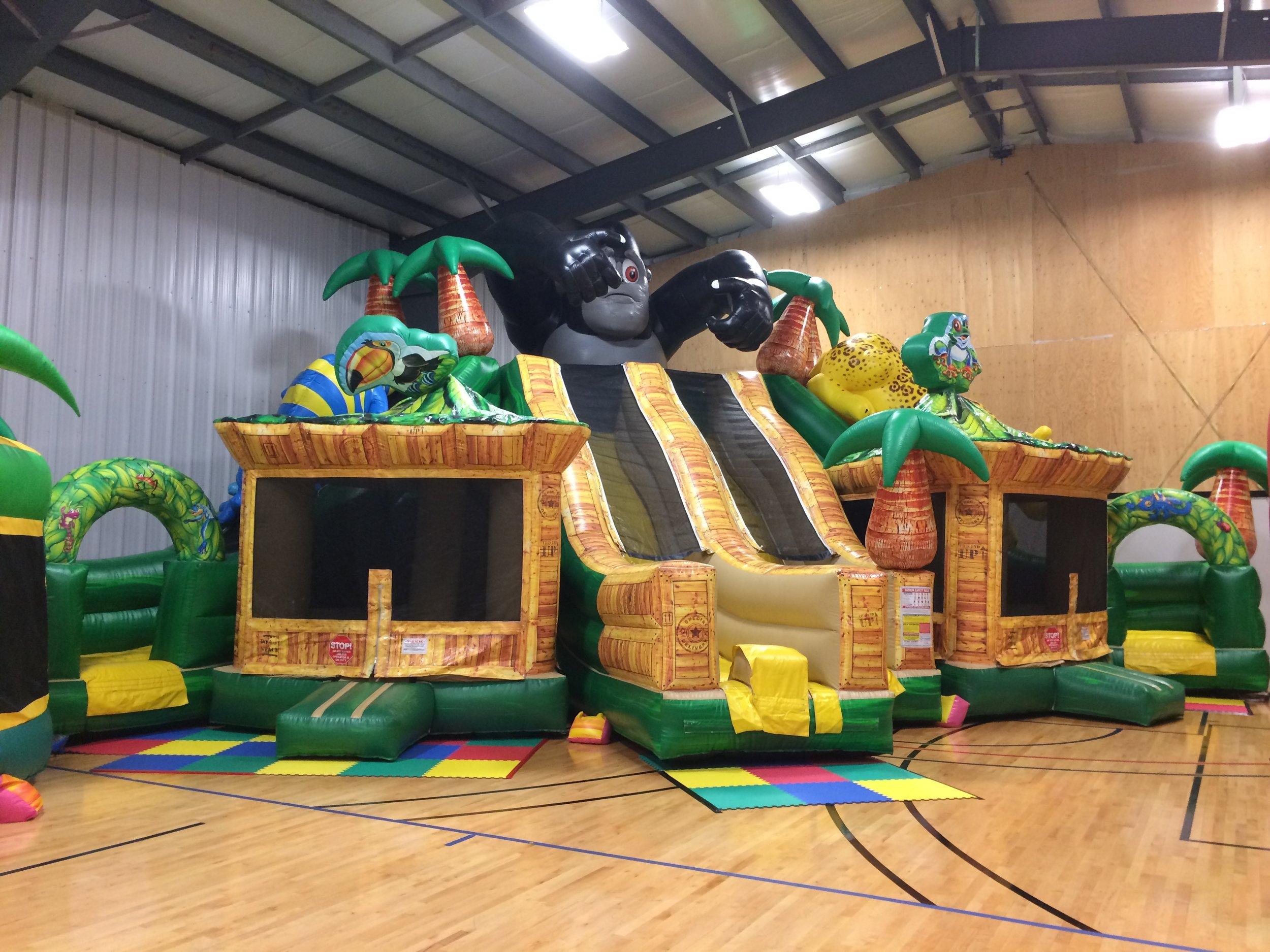 Jungle Triple Slide