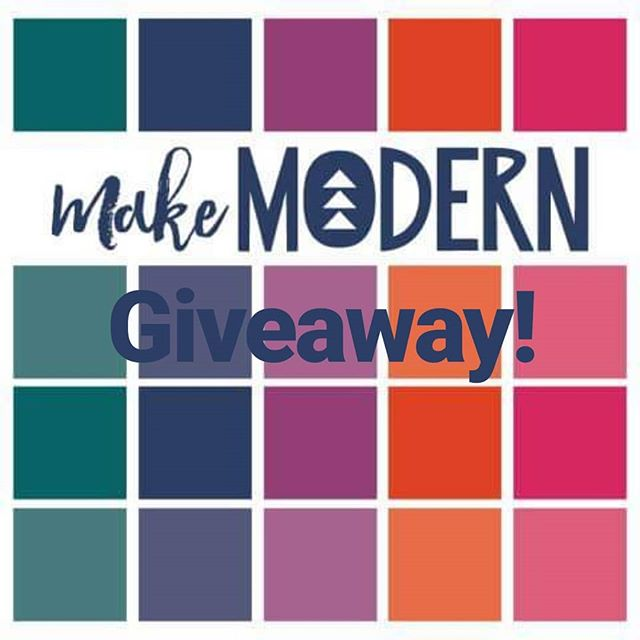 Guess what? My first pattern is coming out in Make Modern this month! To celebrate, @makemodernmagazine gave me a 6 month subscription to give away! To enter, just (1) follow me and (2) tag a friend in a comment (one friend per comment please). I'll choose the winner on Friday July 5th! Thanks! . #makemodern #makemodernmagazine #quiltsofinstagram