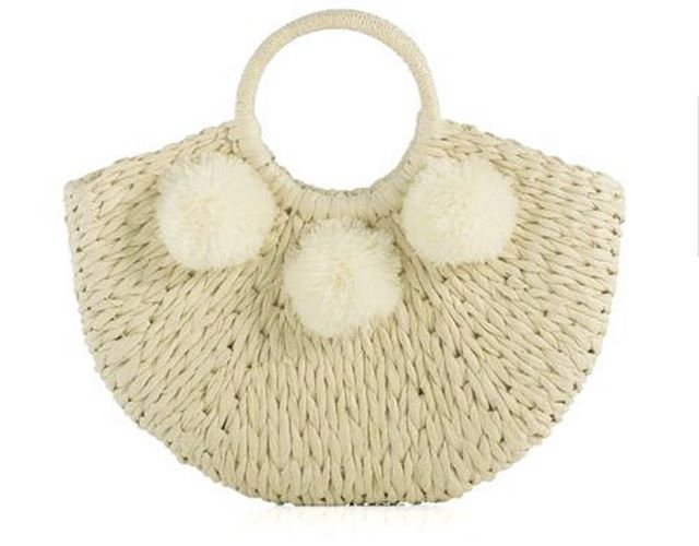 """The """"Coco"""" Bag. Because variety is the spice of life and summertime straw bags remain classic forever! 🍋"""