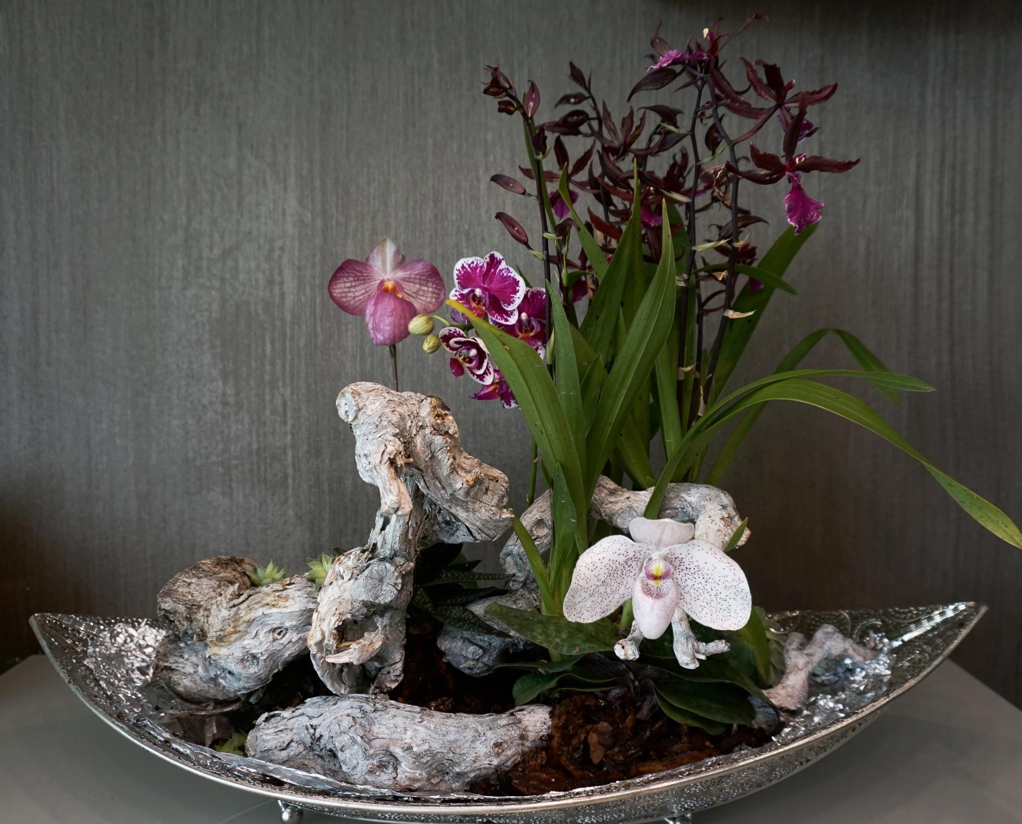 Raum Blumenschmuck