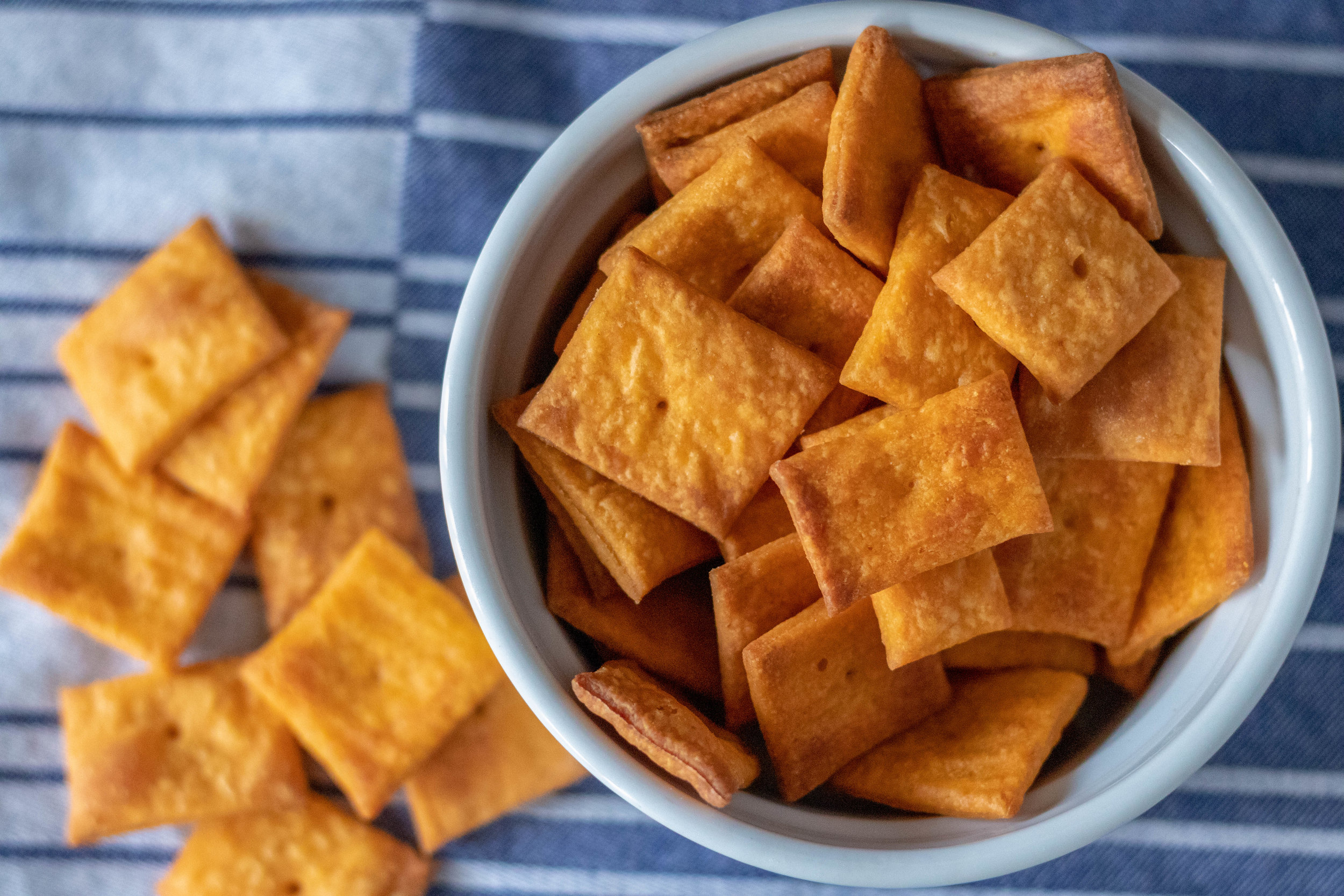 Vegan Cheezits