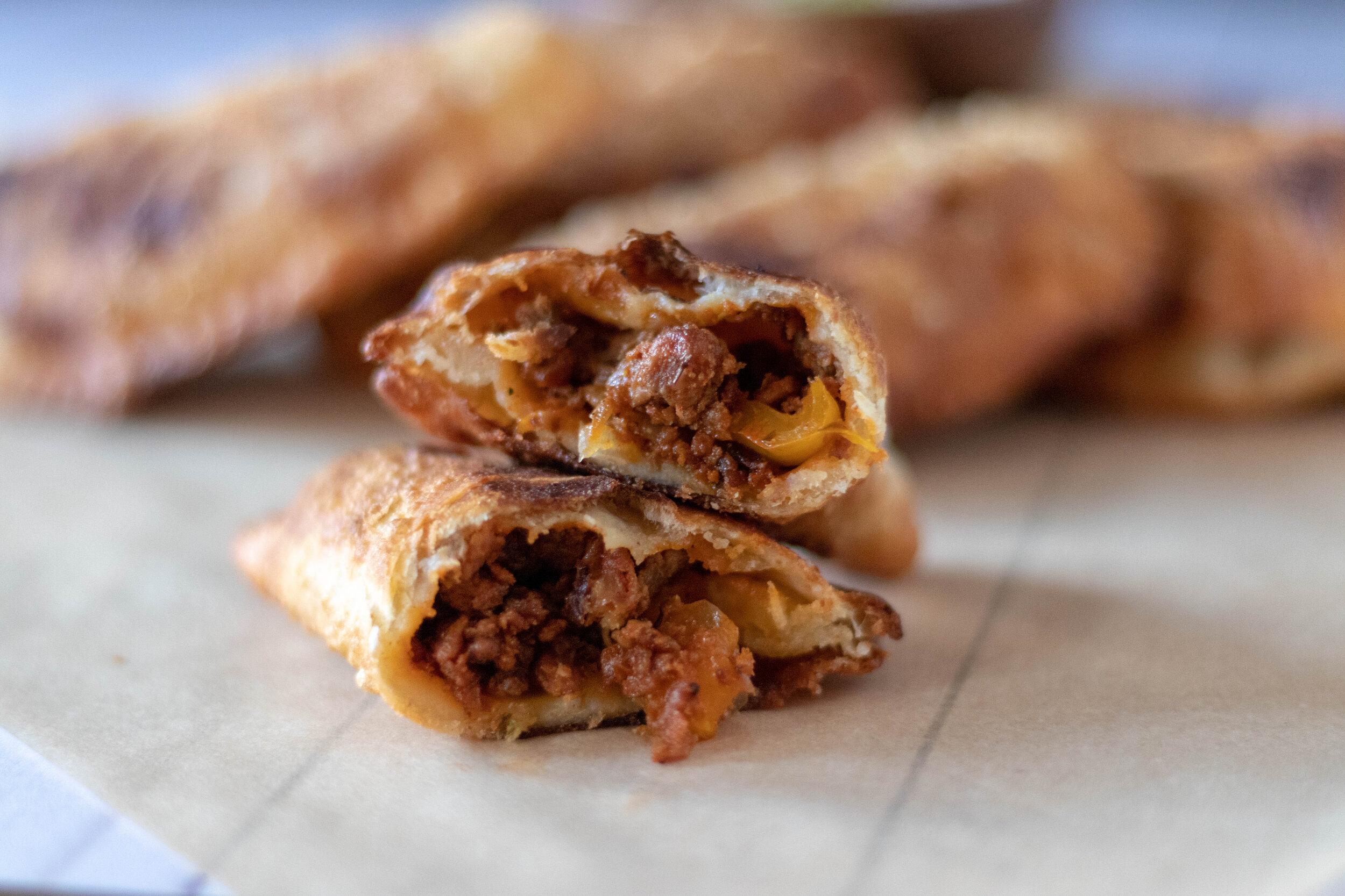 Vegan Chorizo Empinadas