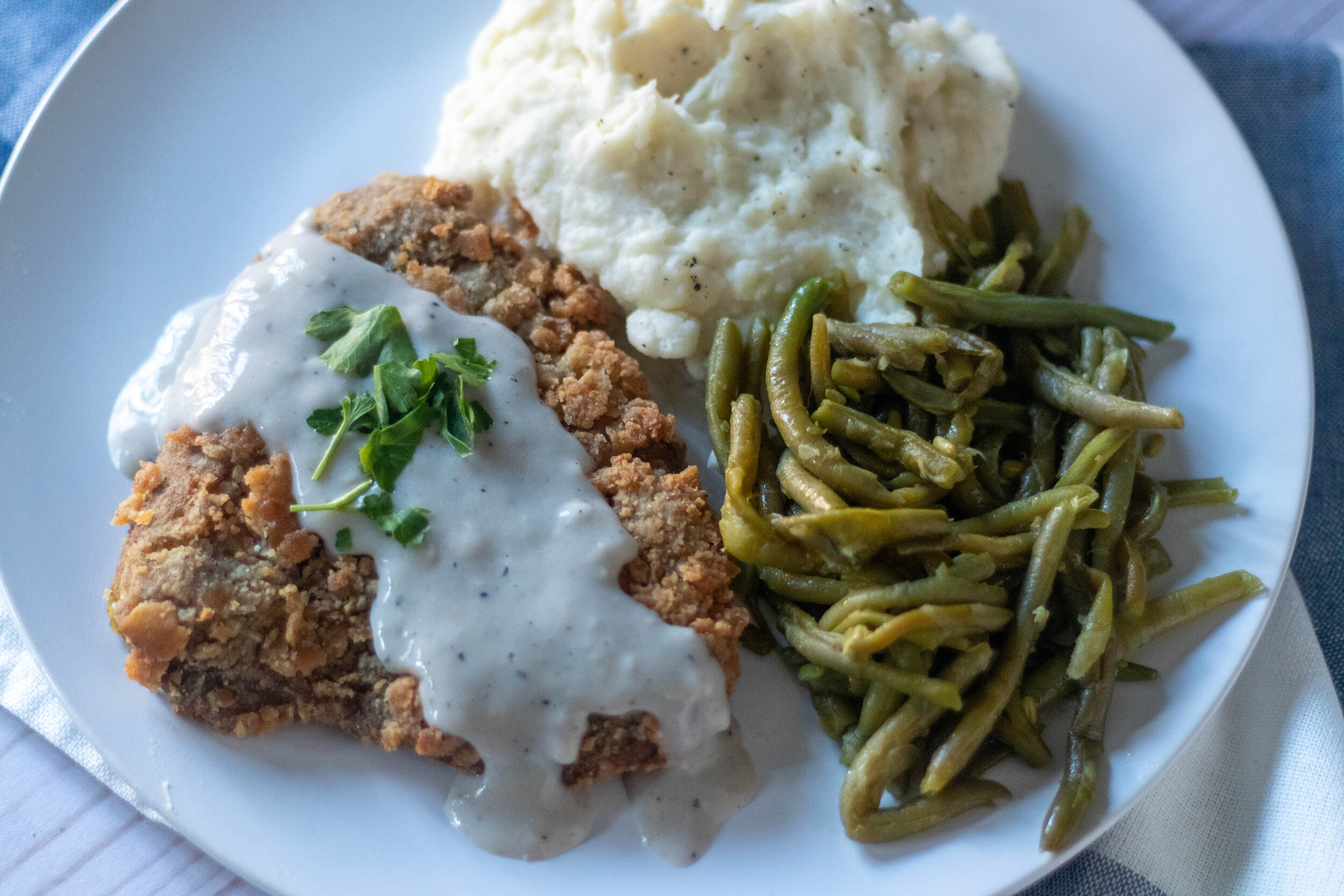 Vegan Country Fried Steak 86 Eats