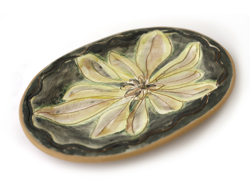 Vallauris Flower Plate