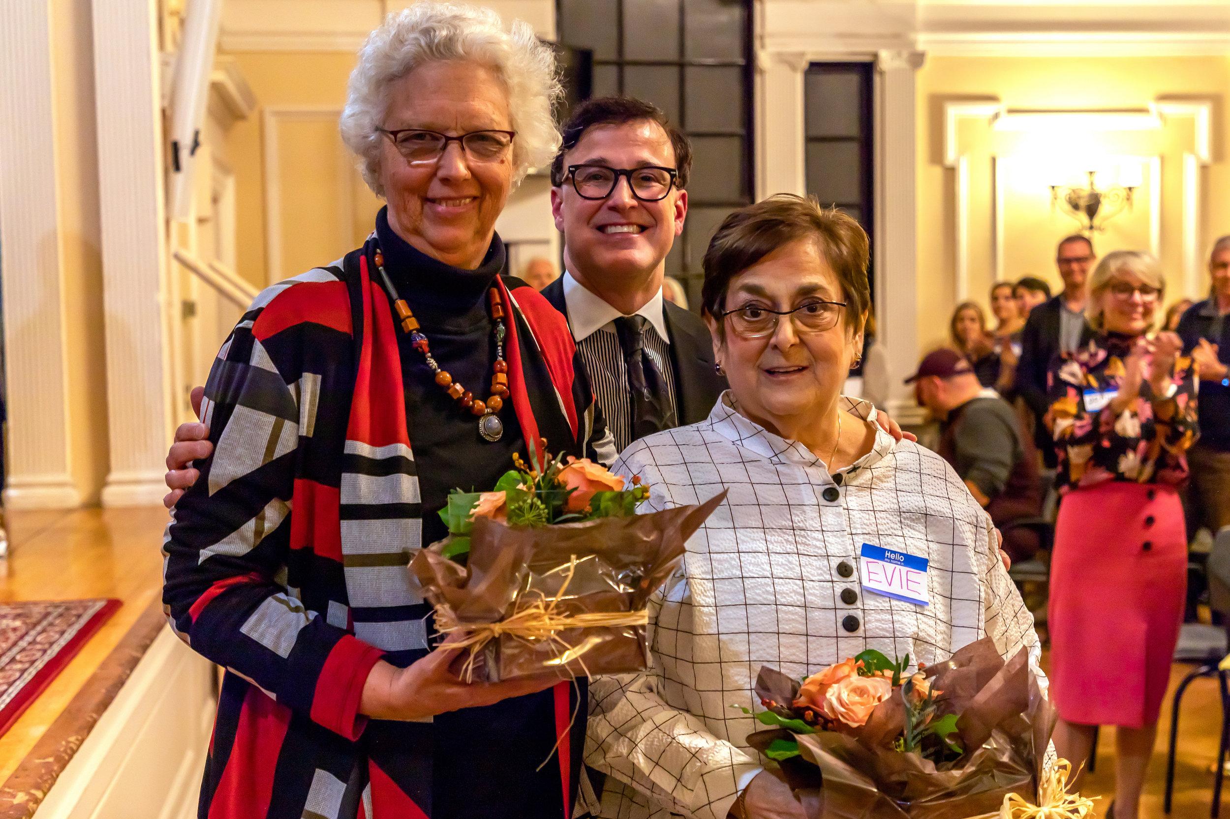 Anne Whitman, Joe Flores, Evie Barkin