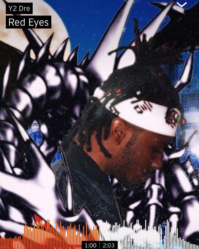"Dropped A New Single ""Red Eyes"" On SoundCloud 🔥🔥 #support Cover by @fuckjosesantos 💪🏾 . . . . #newmusic #underground #soundcloudrapper #k9 #billyclub #chicago #governmentshutdown #messiah #dreadlocks #rasta #freedom #bandana #symbolism #blackdragon #yugioh #duel #2019 #anime #dbzisgoattho #redeyes"