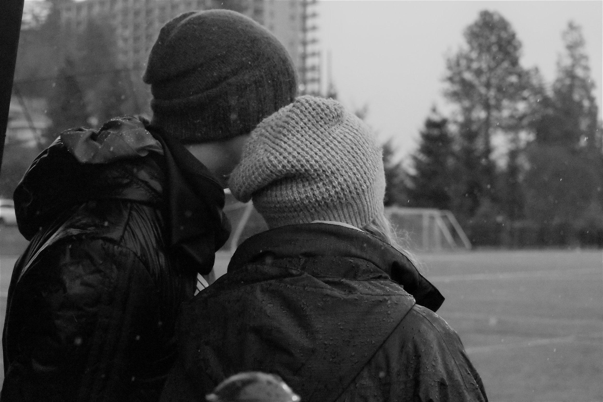 Portrait - Coaching team - sports photo, Vancouver, BC