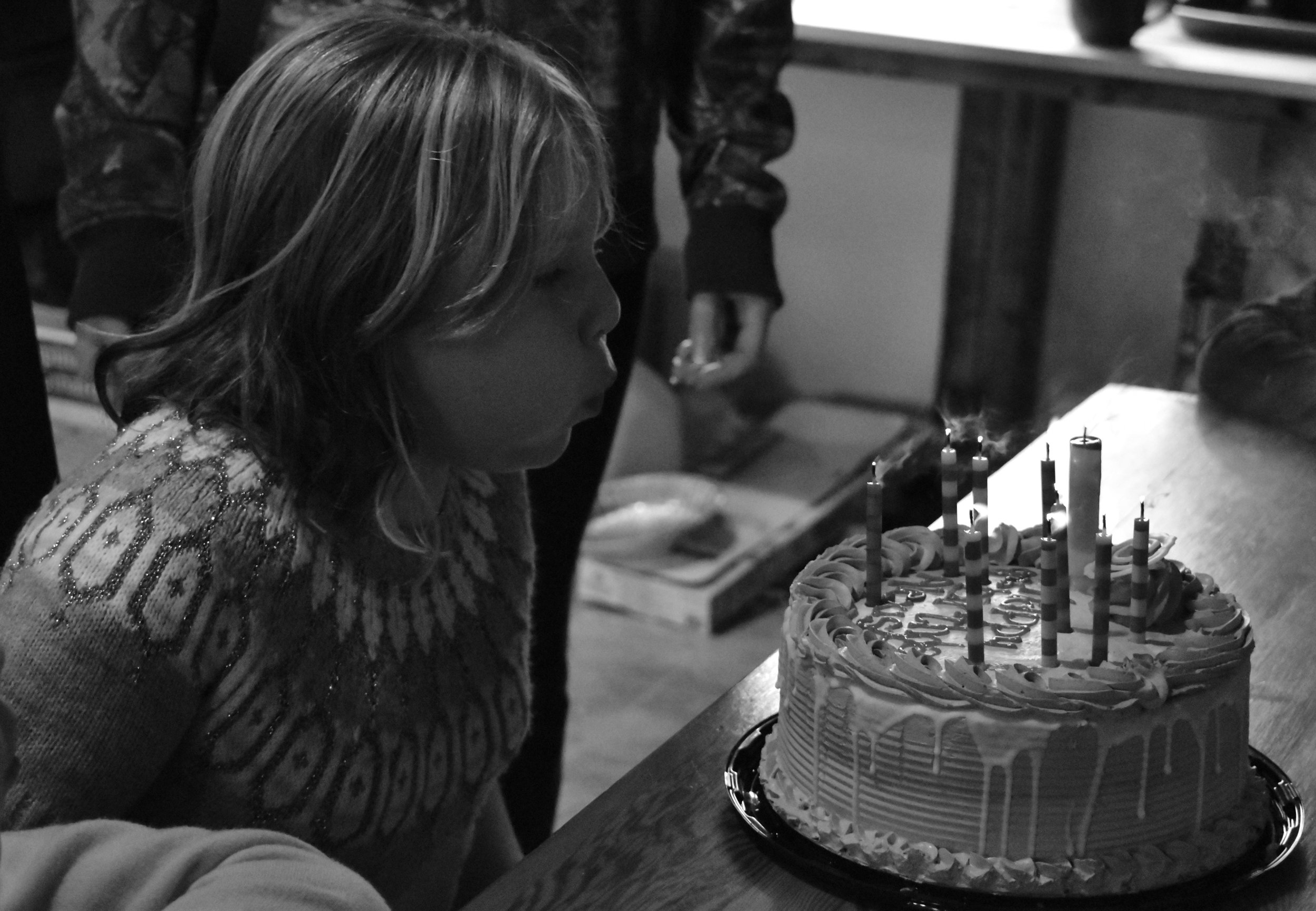 Birthday Party Portrait - Vancouver Island, BC