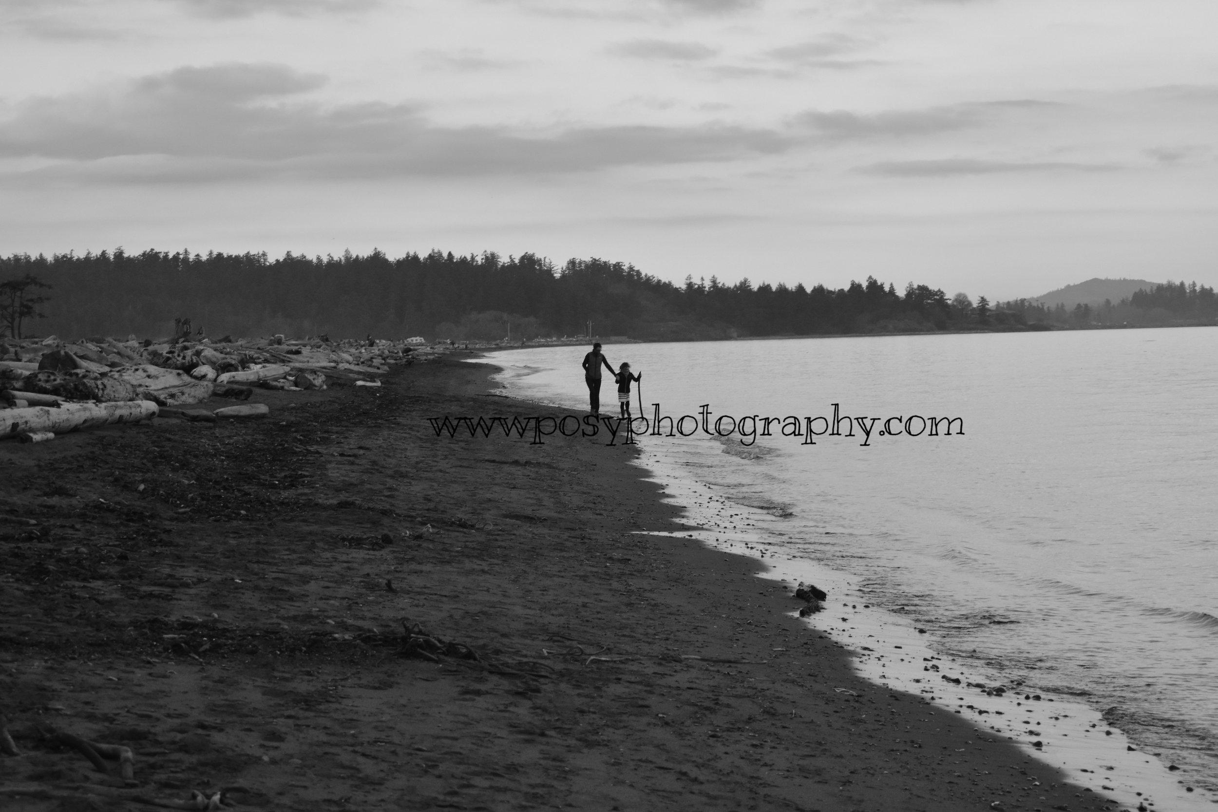 Family portrait - Esquimalt Lagoon, BC