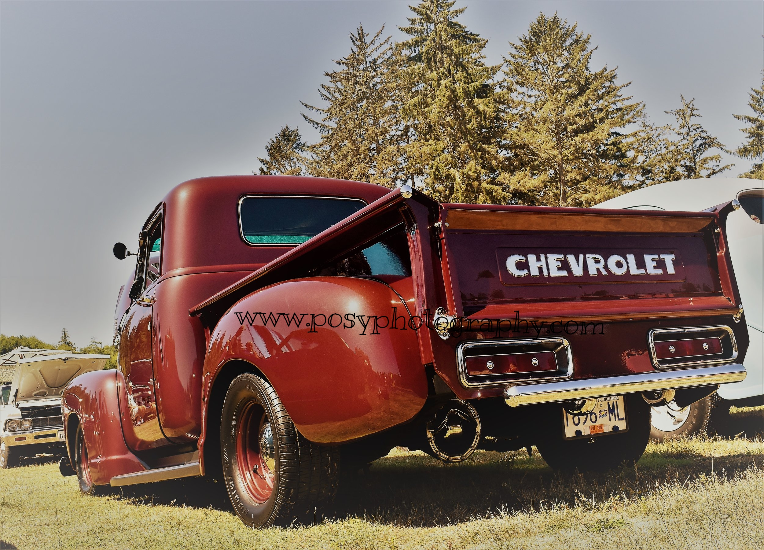 Chevy truck - truck photography - Sooke, BC